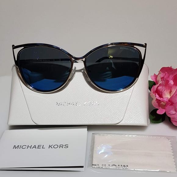 71de3b216bfd Michael Kors Accessories | Mk1020 Ina Cat Eye Sunglasses Nib | Poshmark